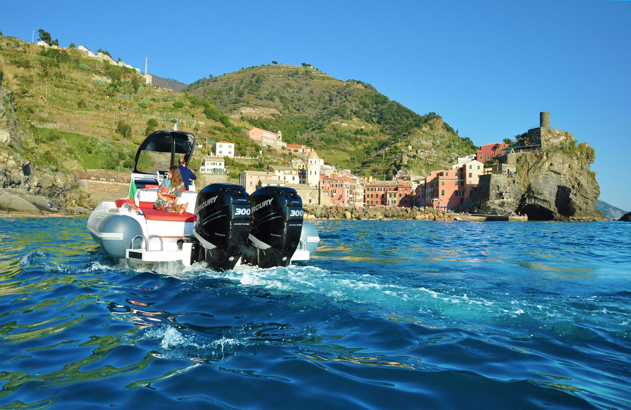 Charter in Cinque Terre